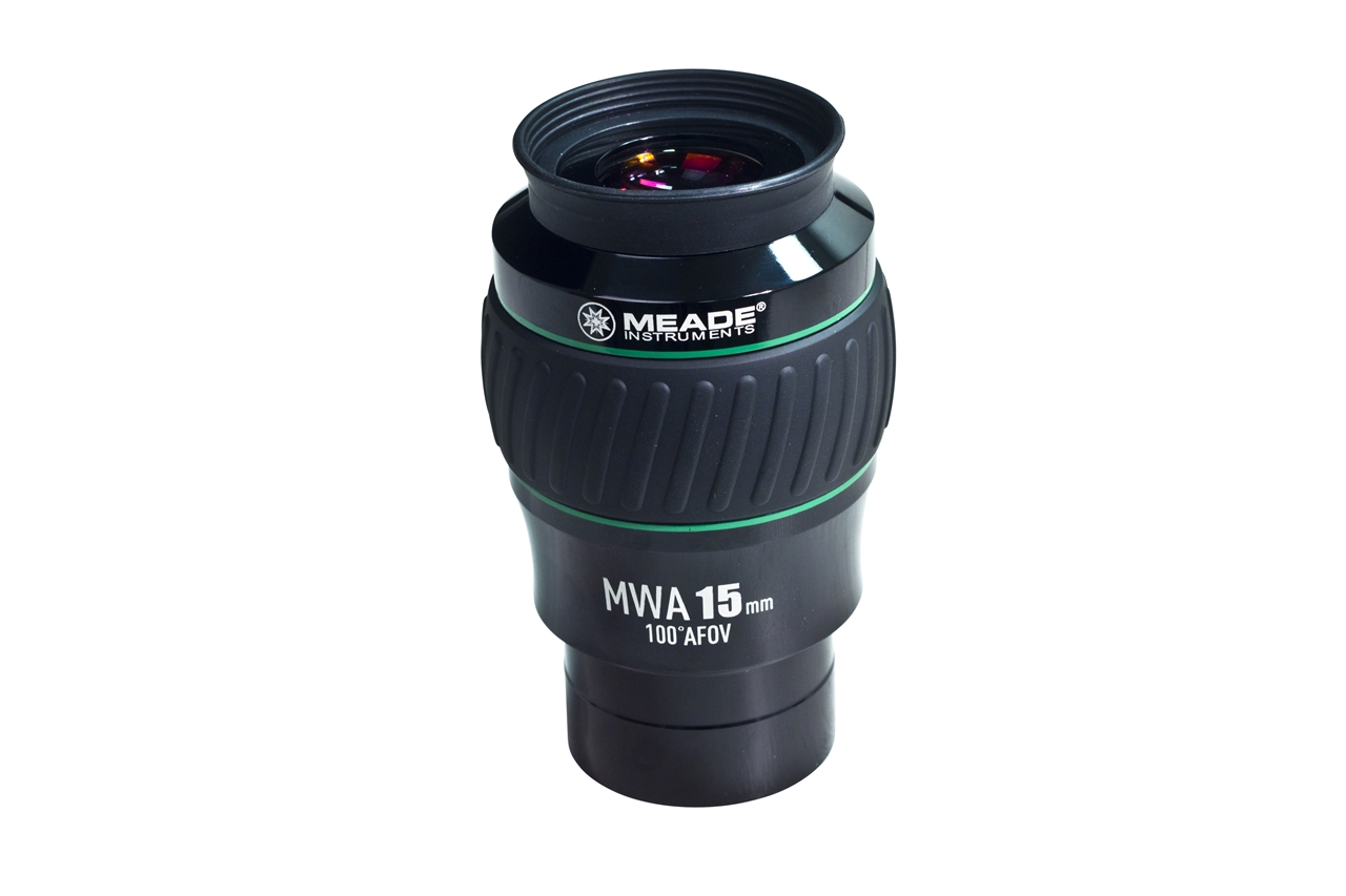 "Meade 5000 Series Eyepiece MWA 100 Degree 15mm 2"" 607017"