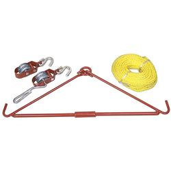 Allen GAMBREL & HOIST KIT 440# LOAD ORANGE