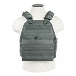 NC Star Urban Gray Plate Carrier Vest